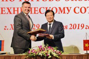 Việt Nam là đối tác thương mại lớn thứ 23 của Nga