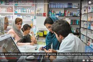 Các biện pháp trừng phạt của Mỹ đe dọa sức khỏe người dân Iran