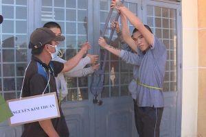 Cán bộ xã chỉ điểm trộm đục két sắt cơ quan lấy 400 triệu ở Đắk Lắk