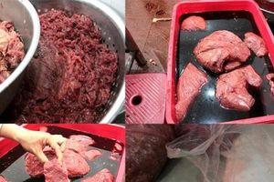 Kinh hãi cảnh hô biến lợn sề, trâu nái bốc mùi thành thịt bò tươi ngon