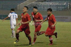 U21 Việt Nam thắng đậm đội bóng thầy Park giới thiệu