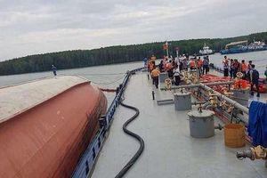 TP.HCM ứng phó sự cố tràn dầu