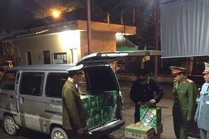 Nhập lậu lượng lớn chai bia, mỳ ống dạng thanh từ Trung Quốc về các tỉnh tiêu thụ
