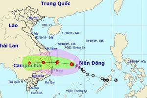 Bão số 5 di chuyển nhanh, dự kiến chiều nay đổ bộ vùng biển Quảng Ngãi - Ninh Thuận