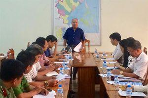 Lãnh đạo tỉnh Khánh Hòa kiểm tra công tác ứng phó bão số 5 tại Vạn Ninh