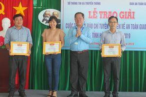 Hậu Giang: Phát động cuộc thi 'Giải báo chí tuyên truyền về ATGT' năm 2020