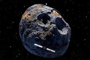 Psyche - tiểu hành tinh chứa lượng lớn hợp kim niken sắt giá 10.000 triệu triệu USD