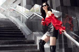'Á hậu hớ hênh vòng 1 trên VTV' ngày càng ăn mặc nóng bỏng