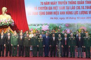Chuyện cảm động về quân tình nguyện tại Lào