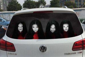 'Hết hồn' những chiếc xe kinh dị của các tín đồ Halloween