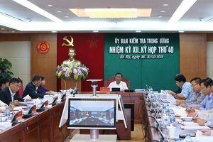 Kỷ luật trung tướng Trình Văn Thống, nguyên Phó tổng cục trưởng Tổng cục An ninh