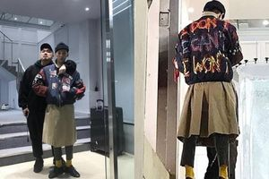 Vừa xuất ngũ, 'ông hoàng' G-Dragon đã làm mạng xã hội dậy sóng với trang phục độc lạ