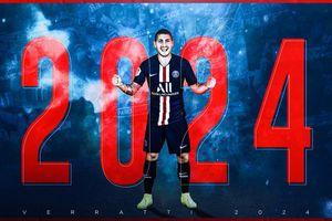CHÍNH THỨC: Marco Verratti gia hạn hợp đồng với PSG
