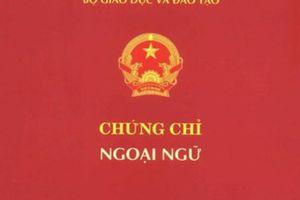 Bộ GD-ĐT chỉ đạo xử lý nghiêm trường hợp mua bán văn bằng chứng chỉ