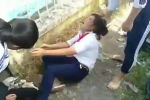 Công an xác minh clip 4 nữ sinh THCS bị đánh dã man