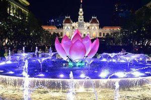 Khánh thành đài phun nước hơn 20 tỷ tại phố đi bộ Nguyễn Huệ