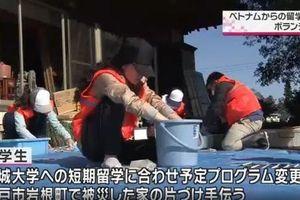 Du học sinh Việt Nam xuất hiện trên truyền hình NHK vì những hành động đẹp