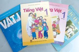 Lùi thời hạn công bố sách giáo khoa lớp 1