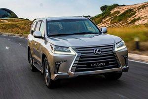 Lexus LX 570 2020 chốt giá 8,34 tỷ tại Việt Nam