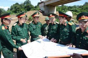 Bộ Quốc phòng kiểm tra việc triển khai thi công Dự án đường Trường Sơn Đông