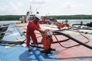 Vụ chìm tàu trên sông Lòng Tàu: Hút thành công 414m³ dầu