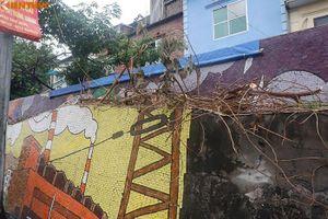 Con đường gốm sứ ở Hà Nội xuống cấp, nhếch nhác thảm hại