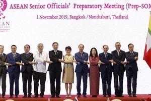 ASEAN họp Hội nghị Quan chức cao cấp trù bị