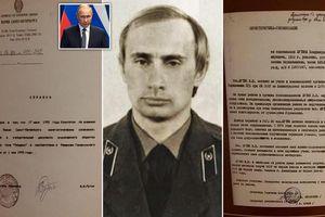 Có gì trong hồ sơ vừa được giải mật của KGB về Tổng thống Nga Putin?