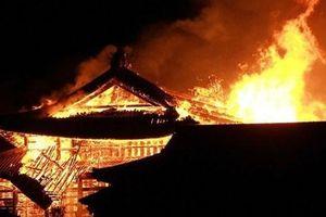 Hỏa hoạn kinh hoàng nhấn chìm lâu đài di sản 600 tuổi ở Nhật Bản
