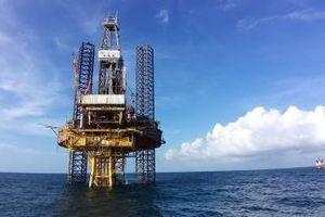 Giàn BK-20 mỏ Bạch Hổ cho dòng dầu thương mại đầu tiên