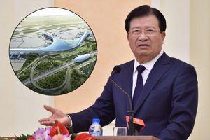 Phó thủ tướng yêu cầu khởi công sân bay Long Thành vào đầu năm 2021