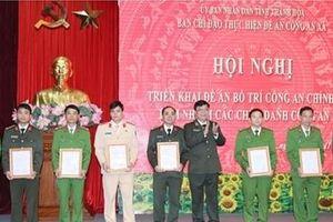 254 cán bộ Công an Thanh Hóa về xã