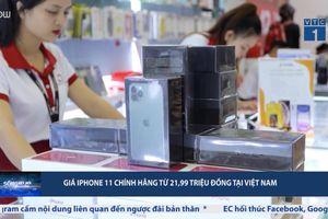 iPhone 11 chính hãng vừa lên kệ đã giảm giá