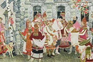 Khám phá những nét đặc sắc trong 'Nghi lễ cưới của các dân tộc Nga' giữa lòng Hà Nội
