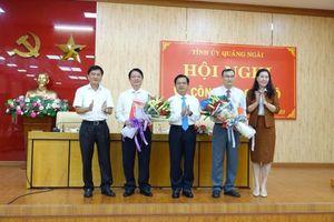 Quảng Ngãi có tân Chủ nhiệm UBKT Tỉnh ủy và Trưởng Ban Tổ chức Tỉnh ủy