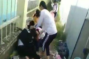 Vụ nữ sinh nắm tóc đánh bạn ở Đồng Tháp: Công an vào cuộc