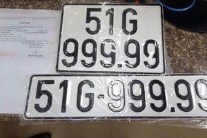 Chủ xe BMW ở TP.HCM bốc được biển số 99999
