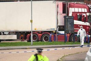 Cảnh sát Anh tin rằng 'tất cả 39 nạn nhân chết trong container là người Việt Nam'