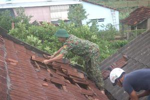 BĐBP Quảng Ngãi giúp dân khắc phục hậu quả thiên tai