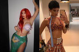 Kylie Jenner hóa thân nàng tiên cá, chân dài Bella Hadid trở thành cô gái núi rừng hoang dã
