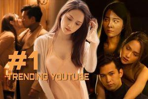 MV #ATBER của Hương Giang vẫn chễm chệ #1 trending sau 2 ngày lên sóng