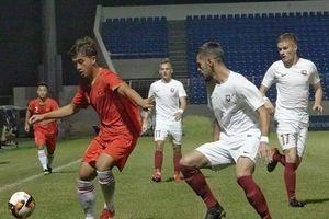 HLV U19 FK Sarajevo kinh ngạc với trình độ chơi bóng của U21 Việt Nam