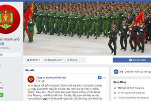 Tiếp nhận thông tin an ninh, trật tự qua Facebook: Hiệu quả nhiều mặt