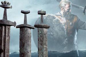 Choáng ngợp kho báu 100 thanh kiếm của người Viking