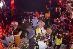 Công an đột kích 3 quán bar, karaoke phát hiện gần 100 thanh niên phê ma túy
