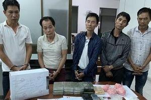 Triệt phá đường dây ma túy 'khủng' có tàng trữ vũ khí quân dụng