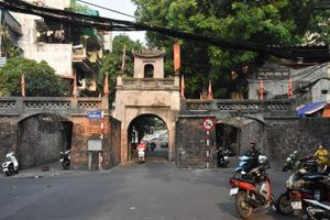 Cửa ô duy nhất của kinh thành Thăng Long