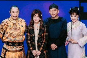 Triệu Vy xúc động khi tái ngộ 'Hoàng a mã' Trương Thiết Lâm và dàn diễn viên 'Hoàn châu cách cách'