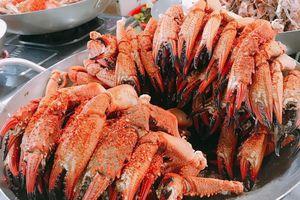 Khám phá khu chợ ngập hải sản ở TP.HCM