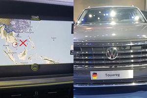 Không cấp giấy chứng nhận cho ôtô vi phạm chủ quyền Việt Nam